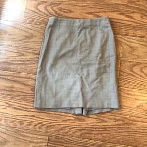 Banana republic pencil skirt 0